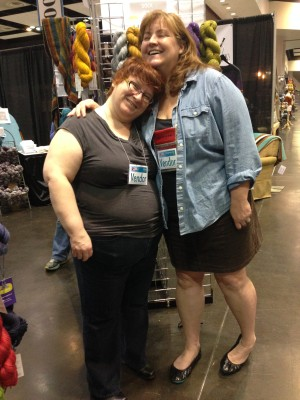 Me and Kim of Indigodragonfly!