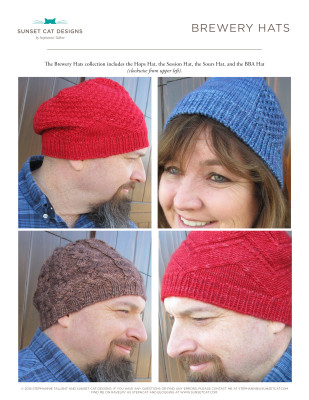 Brewery Hats E-book Cover Page smaller